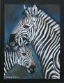 Zebra painting.