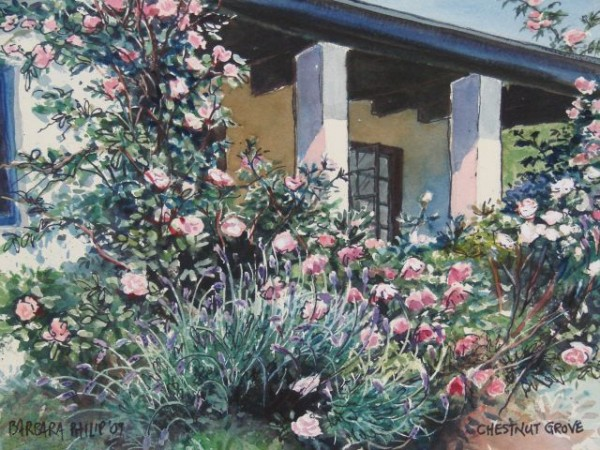 Chestnut Grove painting