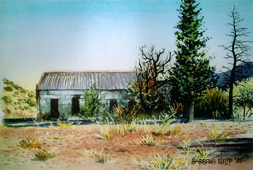 Dassie House painting