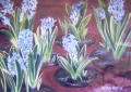 Hyacinths painting