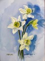 Painting of Daffodils.