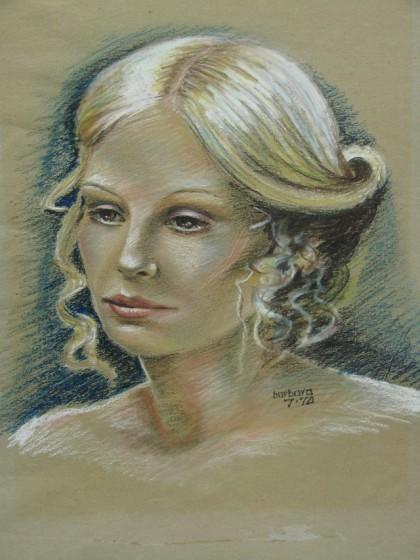 Pastel portrait 1974