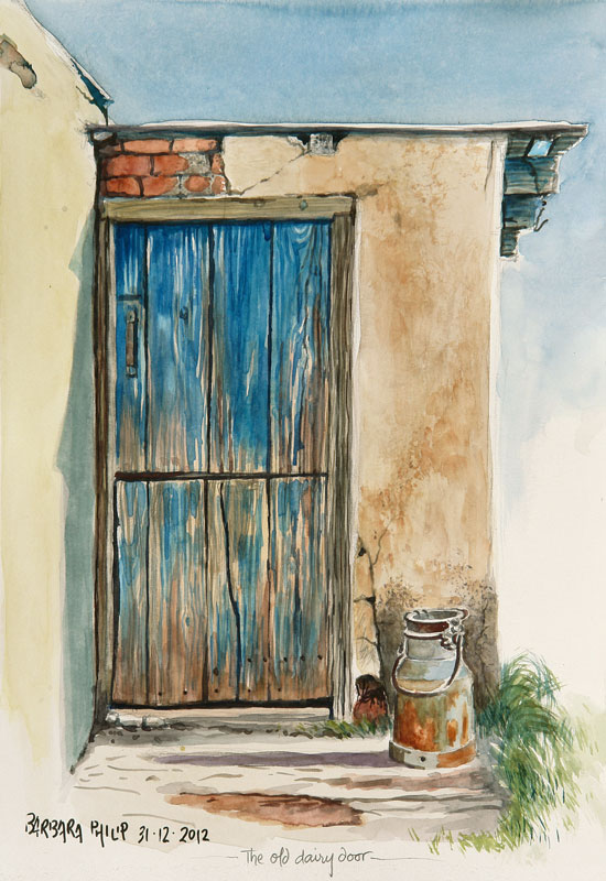 The Old Dairy Door