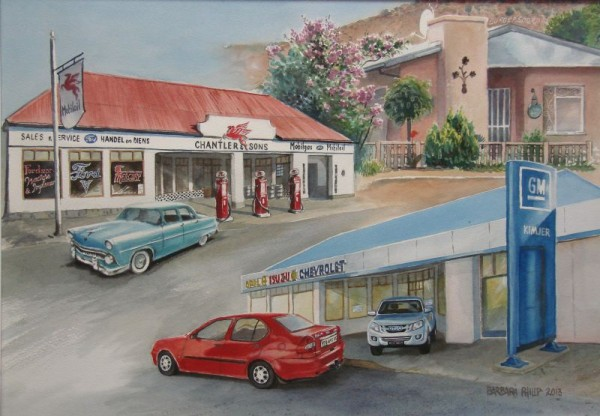Garage composite, Burgersdorp