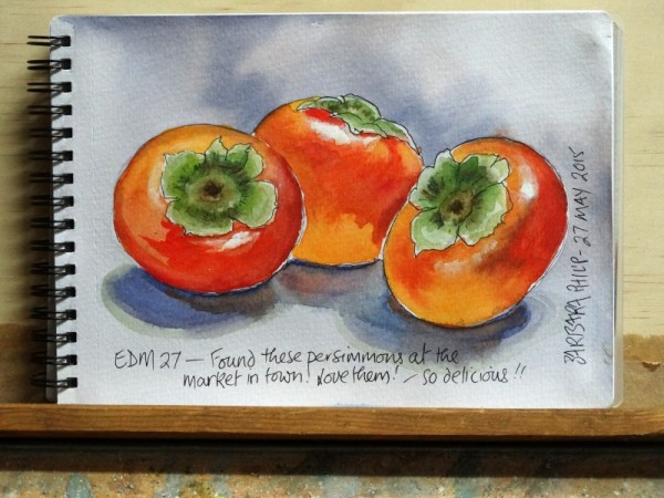 Persimmons.