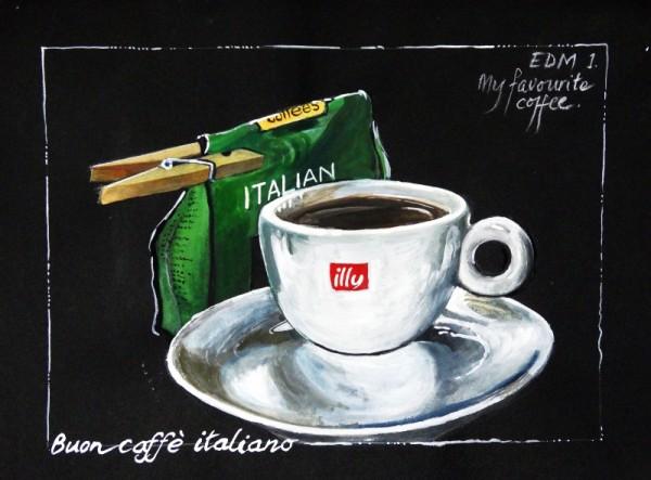 Un buon caffè italiano.