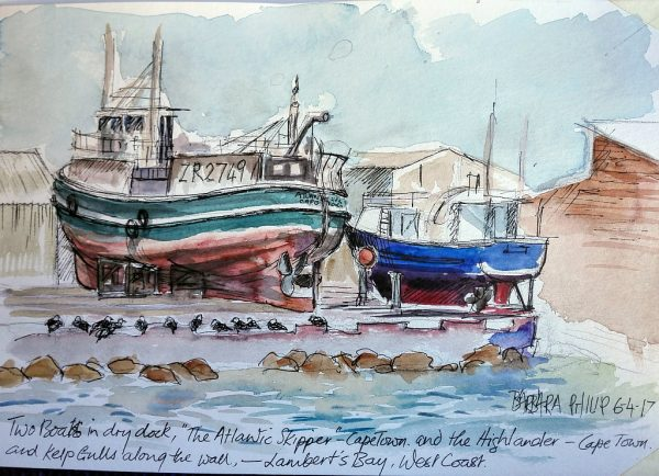 Lambert's Bay boat repairs.