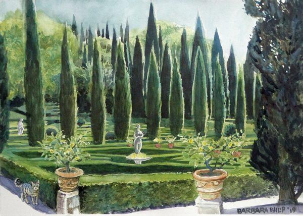 Giardino Giusti. Verona