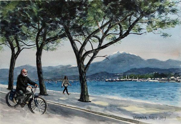 Lago di Garda view.