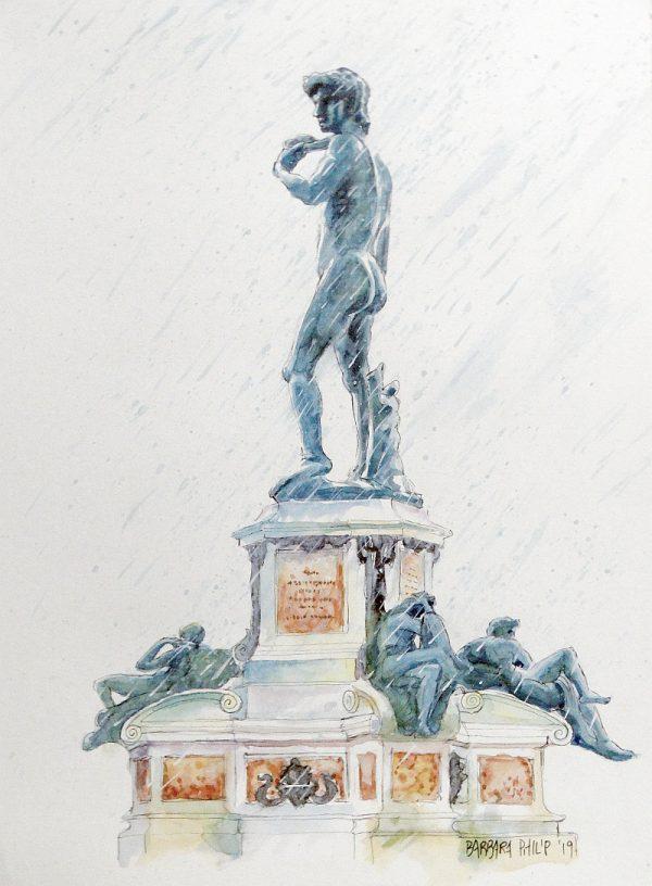 David statue copy, Florence