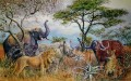The Big Five, painting