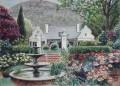 Eildon garden painting