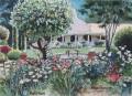 Maastrom garden painting