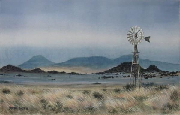 Freestate landscape painting