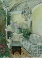 Albertvale garden painting