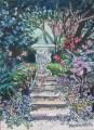 Kelvinside garden painting