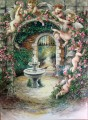 Painting of Angel Garden