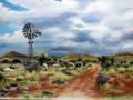 Karoo Farm Landscape