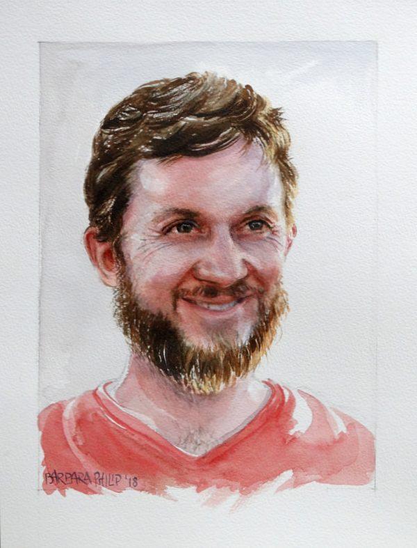 Portrait of our son, John.