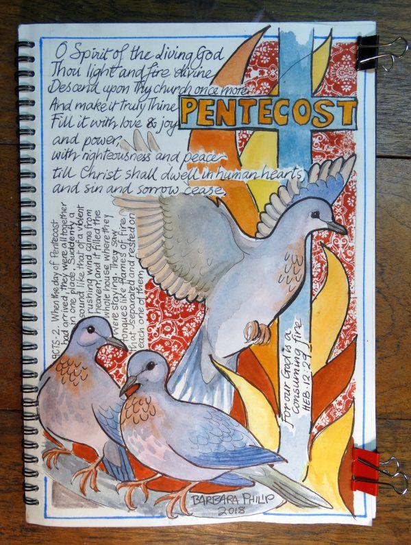 Pentecost Journal Page