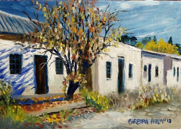 Houses on the street, Burgersdorp